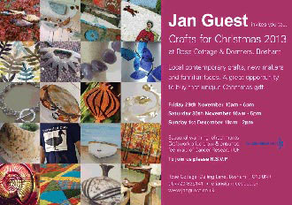 Garden Art and Sculpture at Jan Guests Crafts for Christmas