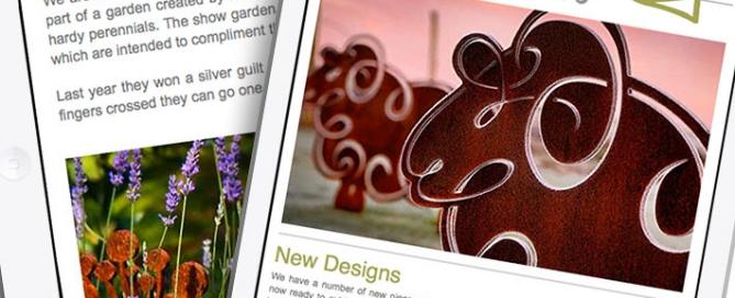 Garden art and Sculptures March Newsletter