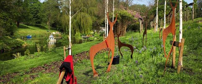 Sculpture Exhibition at West Lavington Manor, Wiltshire