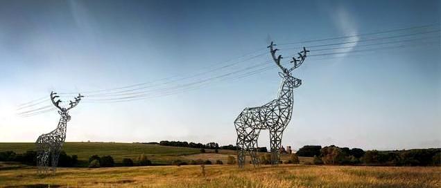Reindeer Pylons