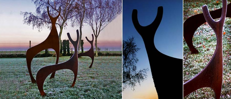Garden Art and Sculpture, Deer garden sculptures