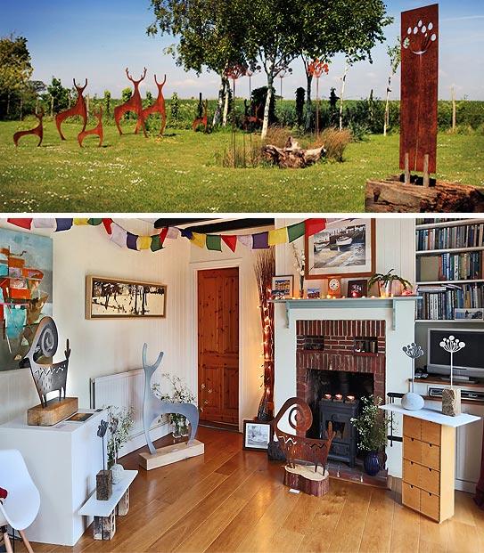 Chichester Art Trail, Garden Art and Sculpture, venue 13