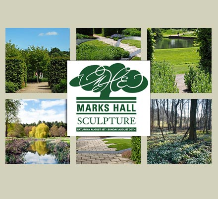 Garden Art and Sculpture at Marks Hall