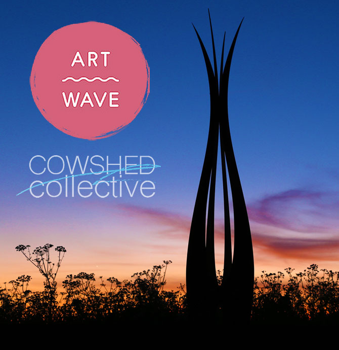 Artwave festival 2020 at the Cowshed Collectice