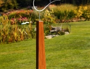 Bird sculptures, a contemporary sculpture for the garden